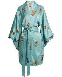Chufy - Komodin Silk Kimono Jacket - Lyst