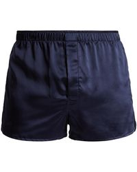 Derek Rose - Bailey Silk-satin Boxer Shorts - Lyst