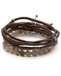 M. Cohen - The Create Stack Ii Bead Embellished Bracelet - Lyst