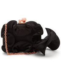 Sophia Webster - Vivi Ruffled Satin Box Clutch - Lyst