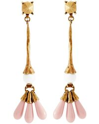 Valentino - Long Bead Drop Earrings - Lyst