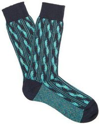 Pantherella - Charlecote Cotton-blend Socks - Lyst