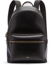 Dolce & Gabbana - Sac à dos en cuir à logo Vulcano - Lyst