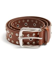 Isabel Marant - Rica Stud-embellished Leather Belt - Lyst