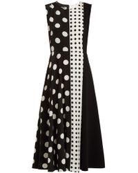 Sportmax | Spot Panel Mid-length A-line Dress | Lyst