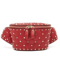 Valentino - Rockstud Spike Belt Bag - Lyst