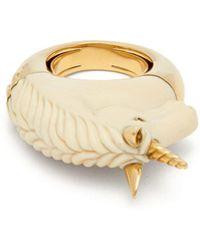Bibi Van Der Velden - Unicorn Sapphire & 18kt Gold Ring - Lyst