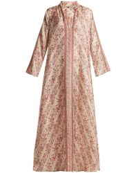 Mes Demoiselles - Bobo Floral-print Silk Dress - Lyst