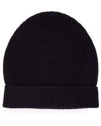 Craig Green Ribbed-knit Beanie Hat in Black for Men - Lyst cc0f57776d04