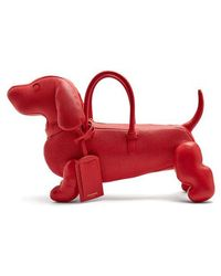 Thom Browne - - Hector Grained Leather Dog Bag - Womens - Red - Lyst