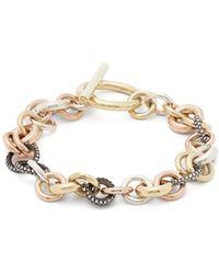Spinelli Kilcollin - Avalon Diamond & 18kt Gold Bracelet - Lyst