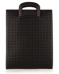 Christian Louboutin - Trictrac Large Spike-embellished Leather Tote - Lyst