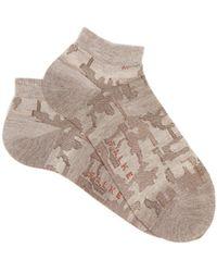 Falke | Brickwall Trainer Socks | Lyst