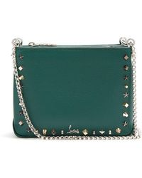 Christian Louboutin - Triloubi Small Leather Cross-body Bag - Lyst