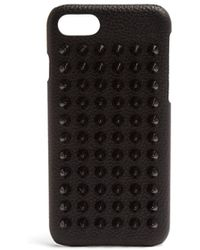 Christian Louboutin - Loubiphone Leather Iphone® 7 Case - Lyst