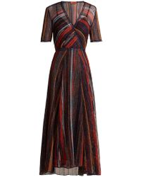 Missoni - Striped Metallic Dress - Lyst