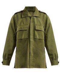 MYAR - 1980s Spanish Military Cotton Jacket - Lyst