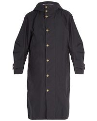 Thom Browne - - Trench-coat oversize à manches articulées - Lyst