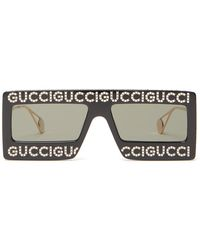 Gucci - Hollywood Forever Embellished Sunglasses - Lyst