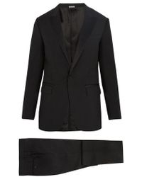 Lanvin - Attitude-fit Single-breasted Wool-blend Suit - Lyst