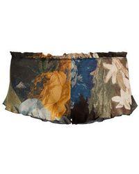 Carine Gilson - Floral-print Silk Pyjama Shorts - Lyst