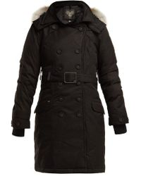 Nobis - Tula Double-breasted Down Coat - Lyst