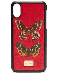 Dolce & Gabbana - Butterfly Print Iphone® Case - Lyst