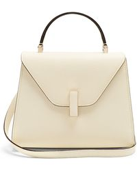 Valextra - Iside Medium Grained-leather Bag - Lyst