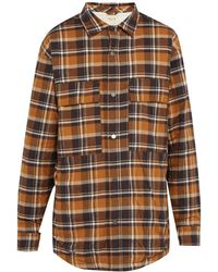 Fear Of God - Checked Flannel Overshirt - Lyst