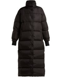 Prada - Long Quilted Down Coat - Lyst