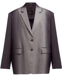 Maison Margiela - Oversized Dégradé Wool Blazer - Lyst