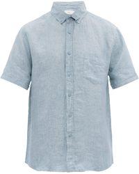 Onia - Jack Slubbed Linen Poplin Shirt - Lyst
