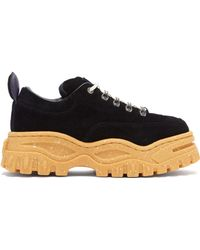 Eytys - Angel Exaggerated Sole Leather Trainers - Lyst