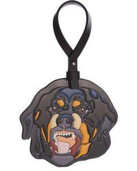 Givenchy - Rottweiler Leather Bag Charm - Lyst