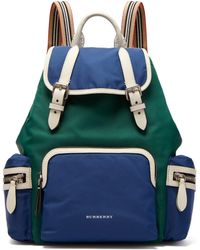 Burberry - Medium Nylon Rucksack - Lyst