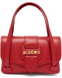 Jacquemus - Le Minho Mini Leather Bag - Lyst