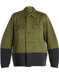 MYAR - 1950s M65 Hungarian Army Cotton Field Jacket - Lyst