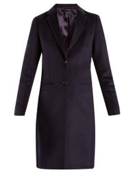 JOSEPH - Martin Single-breasted Wool-blend Coat - Lyst