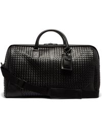 cb0830c45b Bottega Veneta - Intrecciato Leather Duffel Bag - Lyst