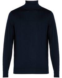 Sunspel - Roll-neck Merino Wool Jumper - Lyst