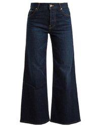 Eve Denim - Charlotte High-rise Wide-leg Jeans - Lyst