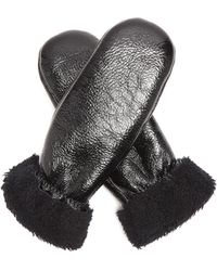 Yves Salomon - Shearling-lined Mittens - Lyst
