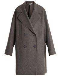 Stella McCartney - Imelda Oversized Double-breasted Wool-blend Coat - Lyst