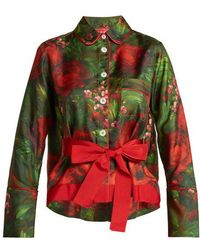 F.R.S For Restless Sleepers - Agon Floral Print Pyjama Shirt - Lyst