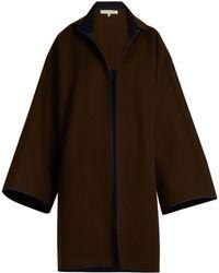 Mafalda Von Hessen - Bi-colour Wool Coat - Lyst