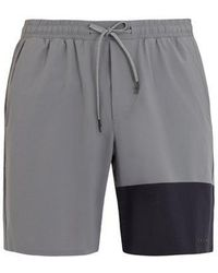 Falke - Lightweight Contrast-panel Shorts - Lyst