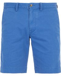 Polo Ralph Lauren - Tailored Cotton Blend Chino Shorts - Lyst