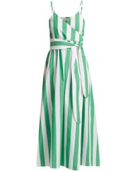 Mara Hoffman - Alma Bungalow Stripe Wrap Dress - Lyst