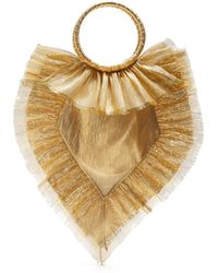 The Vampire's Wife - Ruffle Trimmed Woven Bag - Lyst