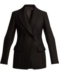 JOSEPH - Sampson Single-breasted Twill Blazer - Lyst